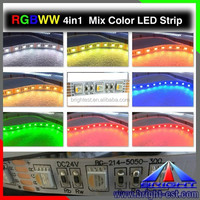 Indoor decorate RGBW LED strip DC12/24V ,DIY color 5050 rgbw led strip 60pcs/m