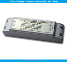 CE High Efficiency 30w 500ma triac dimmable constant current led driver dimming led power supply