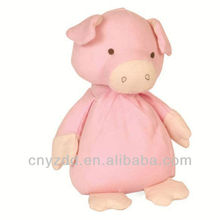 Custom Stuffed Pink Pig Toys / Soft Toy Pink Pig