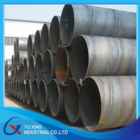 Q235 Q345 ssaw spiral welded steel pipe for oil and gas manufacturing