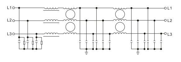 three phase emc    emi input filter for frequency inverter
