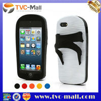 For iPhone 5 Cool Slipper of Taiwan Soft Silicone Protective Case