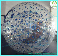 HI CE zorb in inflatable ball for sale grass ball zorb ball