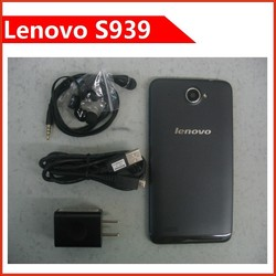 Original Lenovo S939 Smart phone MTK6592 Octa Core 6 inch 3G WCDMA 1GB RAM 8GB Android 4.2 1280x720 8MP Camera GPS