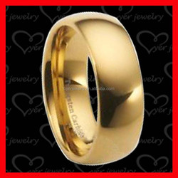 Wholesale Fashion Jewelry Gold Plated Ring Designs 316L Stainless Steel Ring