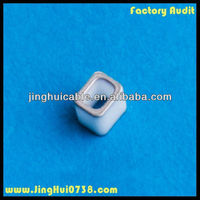 Metallized ceramic parts for fuses