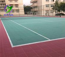 Factory price outdoor used badminton court floor tlie, basketball flooring