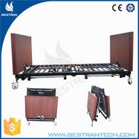 BT-AE032 Five function electric nursing home seniors beds ultra low beds for the elderly