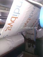 LDPE white shrink fireproof film