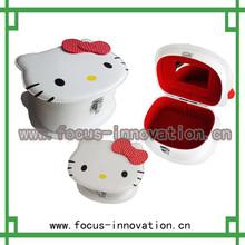 venta caliente de las cajas de almacenaje de cuero decorativa