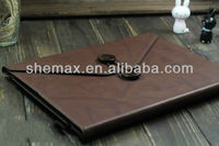 Leather Conference Notepad Case for iPad 4/iPad 3/iPad 2
