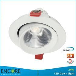Shenzhen 5 Inch Gimbal 22W LED Down Light with Beam Direction Adjustable