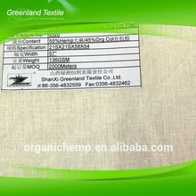 OEM Custom Hot Sale Low Price Novelty Raw Hemp Fabric From China