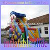 2013 Merry Christmas inflatable festival slide for Santa Claus