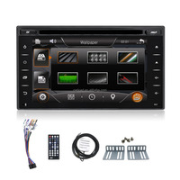 2 din wince car video for universal car dvd with mirror link function