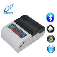 58mm mini handheld Bluetooth Mobile Mini Android Portable ticket Printer/Small Wireless Mobile Android thermal Receipt Printer