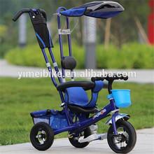 Confortável bebê de três rodas de bicicleta/bebê triciclo