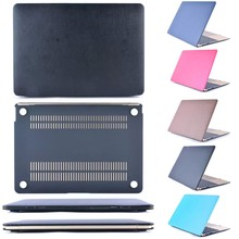 NEW [ PU Leather ] Cover Case For Apple macbook Air Pro Retina 11 12 13 15 inch Protector For Mac book laptop bag