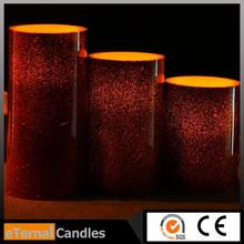 New design led candle light with sensor halloween candles