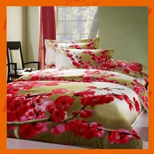 Wintersweet 3D Printing Bed Sheet Designs Colorful Wedding Duvet Cover Set 4pcs