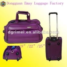 New Design Good Looking Leisure 1680D Travel Trolley Bag