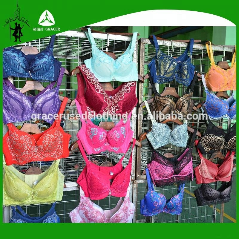 Diseño ropa usada al por mayor a granel compradores lotes para la venta gran tamaño utilizado sujetador