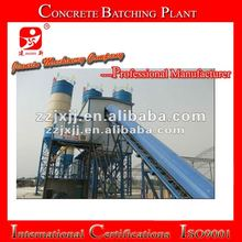 new type self loading cement concrete batching plant