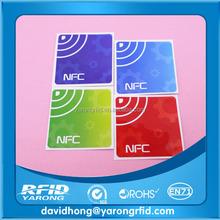 Passive rfid tag sticker | blank rfid tag | 13.56mhz rfid sticker