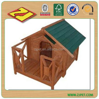 Popular design wooden dog house wooden dog kennel DXDH015