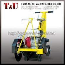 concrete road cutter/walk behind concrete cutter saw
