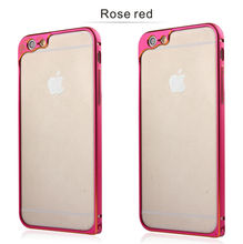 Luxury Gold Mobile Cell Phone PC Skin Case Cover Frame for iphone 6