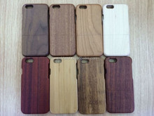 New Arrival High Quality Pure Wood Case for iPhone 6 Plus With Colorful