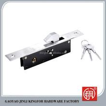 Kingfor alta seguridad marca cerradura de embutir para puertas de aluminio