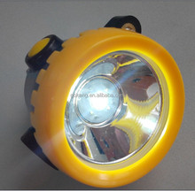 Water proof mining cap lamps,miner safety hard hat lamp,tunnel light