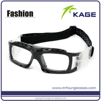 Outdoor sports myopia glasses basketball glasses with adjustable strap