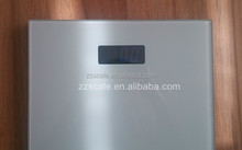 6mm tempered glass design 180kg digital bathroom scale with voice
