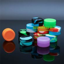 Popular discount 5ml silicone jars dab wax container
