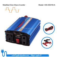 500w modified sine wave 12v 220v 230v solar power inverter with solar panels