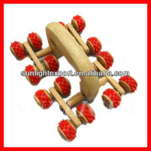 wood leg massager blood circulation massager legs