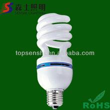 CRI>75,10000 Hours Lifetime,CE&RoHS Proved Half Spiral Lamps Dyalight Bulb Lighting