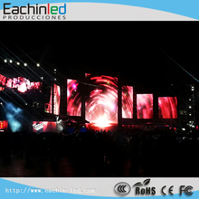 Music Band Full Equipment Transparent LED Curtain Display