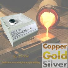 Oro y plata de fundición