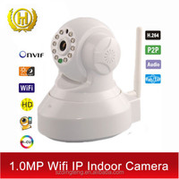 DNR-003 Wireless wifi Pan Tilt 720P Security Network CCTV IP Camera Night Vision WIFI Webcam