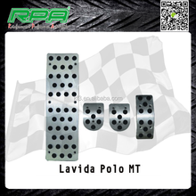 Tuning Car Pedals for Lavida, Aluminum Pedals for Polo MT
