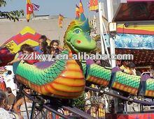 luxury dragon roller coaster kids outdoor entertainment equipment
