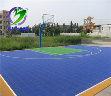 Outdoor Basketball Floating PP Interlocking Flooring