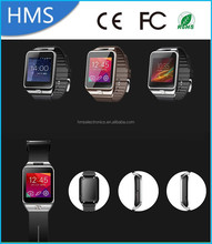 HMS Latest Cheap Smart Watch Phone V8 With Bluetooth Sports Pedometer Health Watch Phone