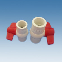 Plastic pvc fitting,pvc ball valve for water pressure pipe