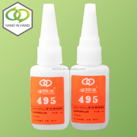 Cyanoacrylate Adhesive 495 best super glue for plastic in industrial application