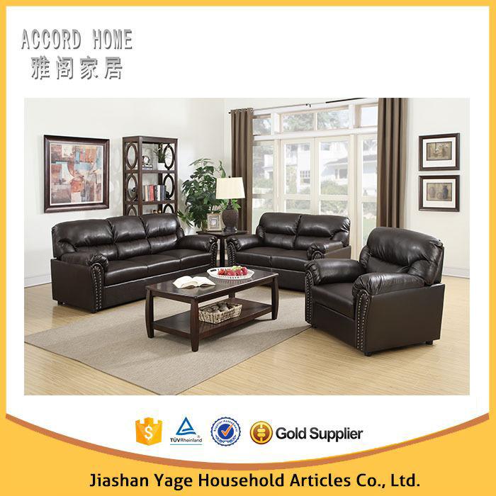 Latest Living Room Furniture Sofa Design Modern Leather